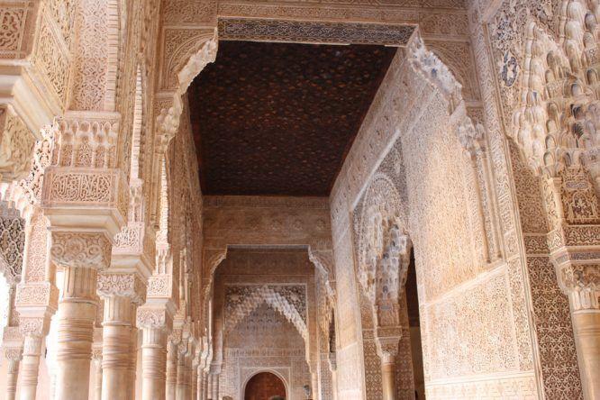 Überall finden sich diese tollen Details im Palacio Nazaries