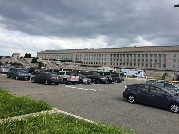 Wuchtig: Das Pentagon
