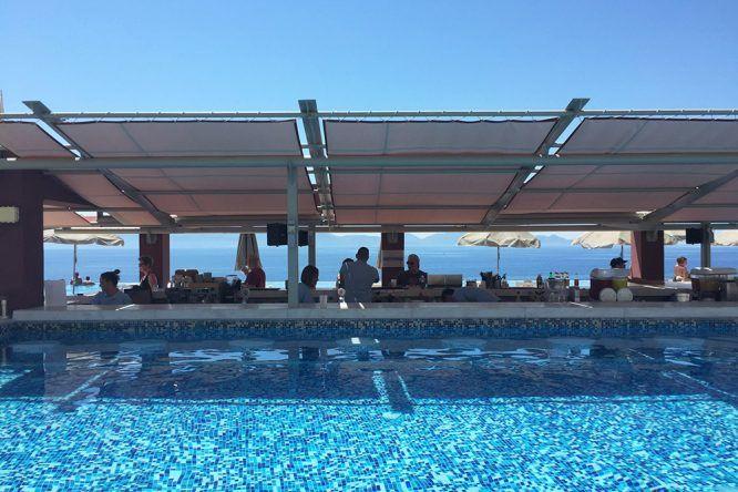 Poolblick Hotel Michelangelo
