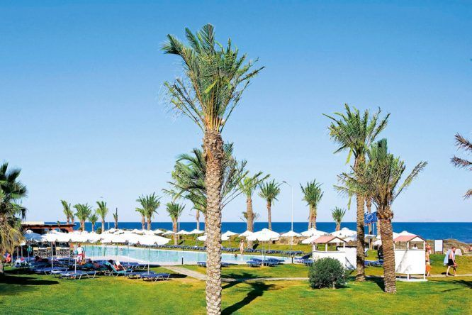 Poollandschaft Best Family Grecotel Royal Park