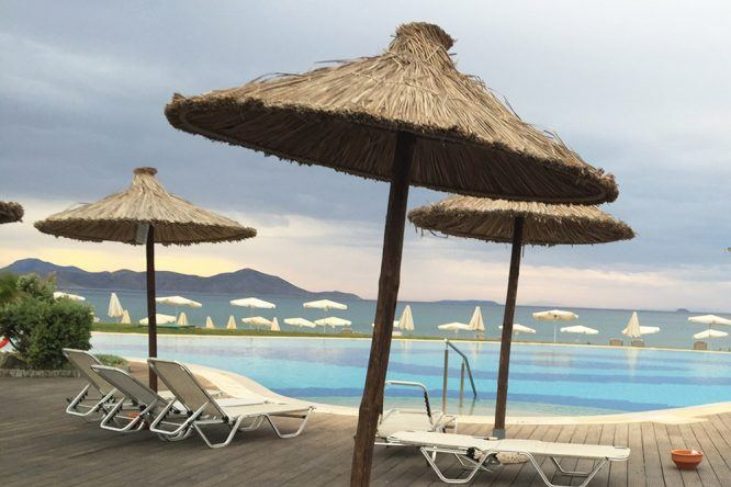 Poollandschaft Hotel Astir Odysseus