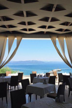 Restaurantblick Sensimar Oceanic Beach Resort & Spa