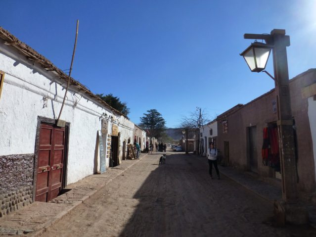Alles sehr einfach gehalten: In San Pedro de Atacama