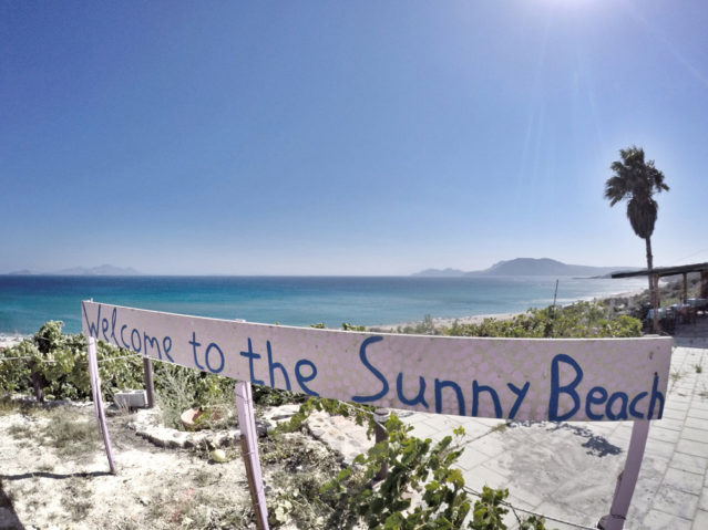Welcome to the Sunny Beach!