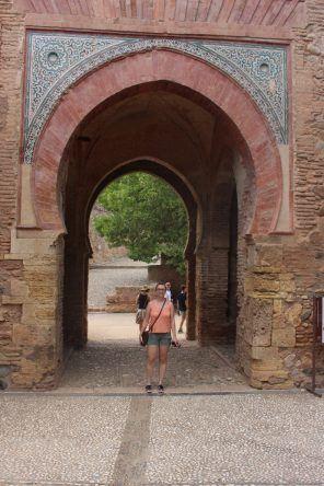Das Eingangstor zur Alhambra
