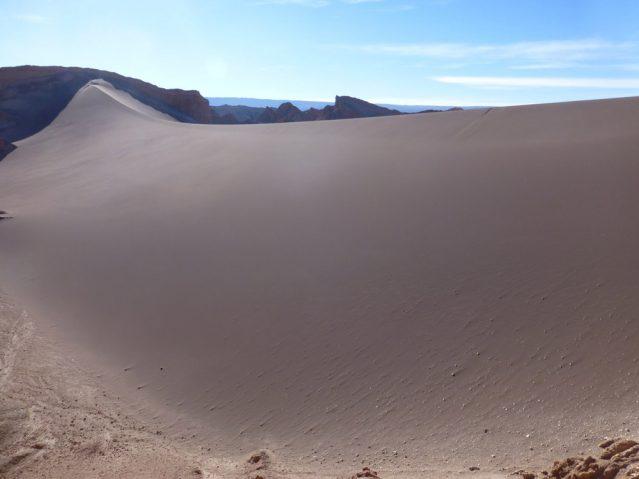 In der Atacamawüste findet ihr wahnsinnig tolle Dünen