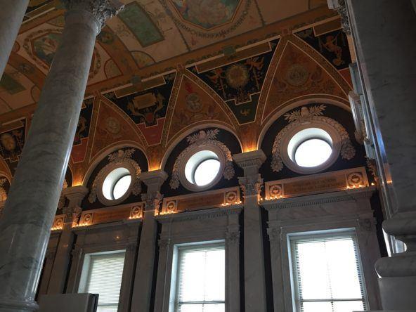 Wirklich sehenswert: Die Library of Congress