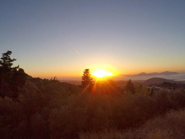 Wundervoller Sonnenuntergang von Zia