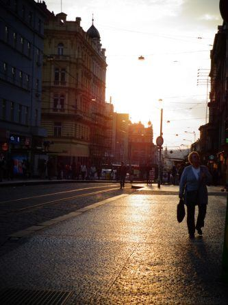 Der Abend in Prag beginnt!