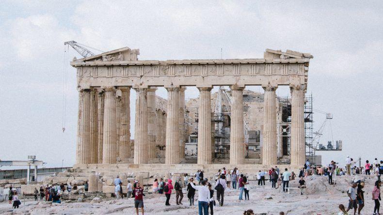 Die Akropolis in Athen (Fotocredit: Alexandra Kryanewa)