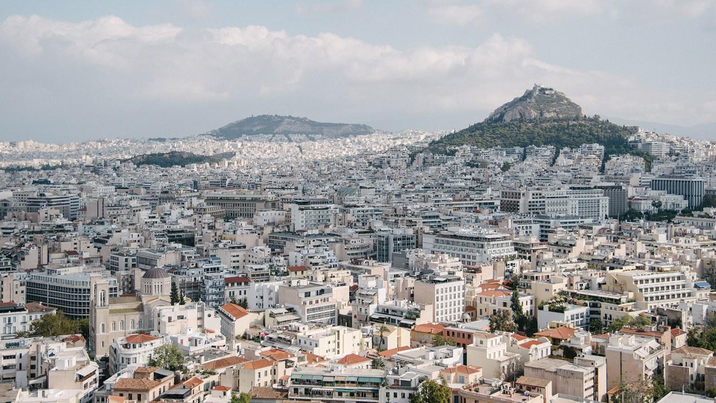 Traumaussicht auf Athen (Fotocredit: Alexandra Kryanewa)