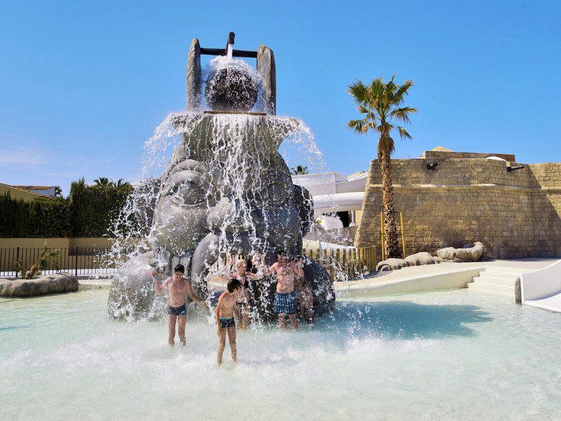 Im Splash Park des Cala Mandia