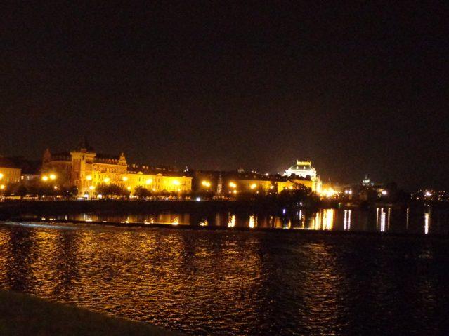 Blick auf die goldene Stadt