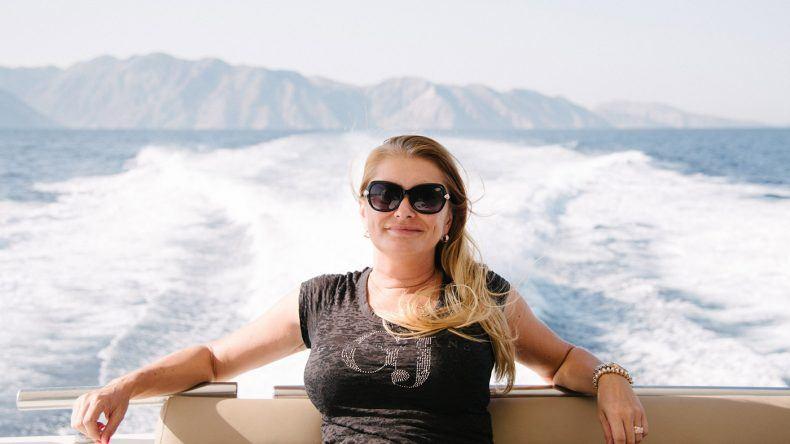 Bootsausflug mit Sylvia Matzkowiak von @goldie_berlin (Fotocredit: Alexandra Kryanewa)