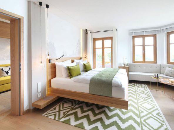 Zimmerbeispiel im Tegernsee Hotel & Spa