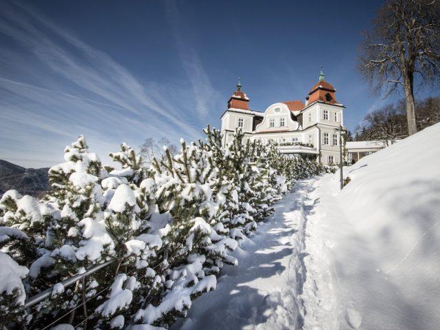 Willkommen im Winter! Das Tegernsee Hotel & Spa in Bayern