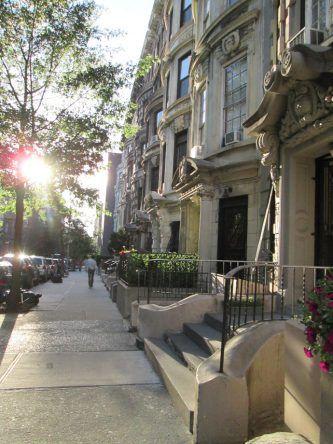Häuserfassaden in NY
