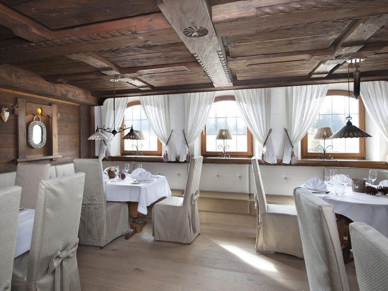 Das Restaurant im Gut Steinbach