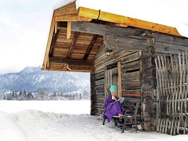 Saunawelt mit Ausblick!