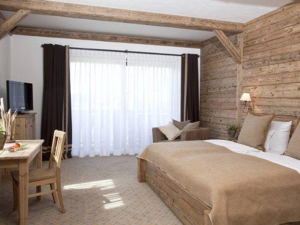 Wohnbeispiel: Das Doppelzimmer Rotspitz im Hotel Lanig
