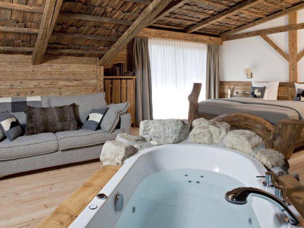 Zimmerbeispiel: Die Wellness-Suite im Hotel Lanig
