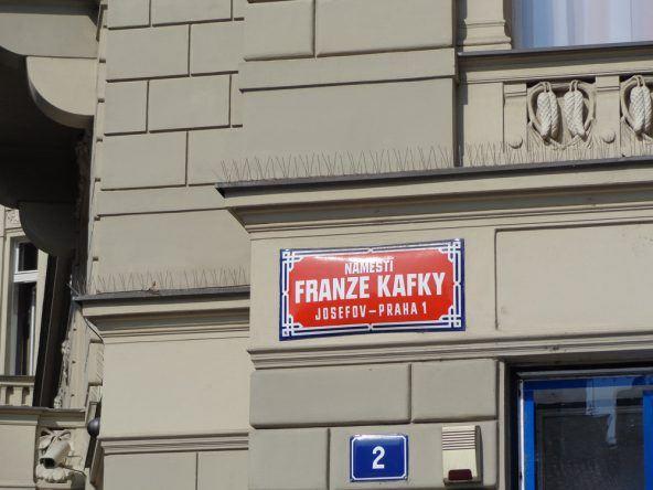 Jüdisches Viertel: Kafka findet man an jeder Ecke