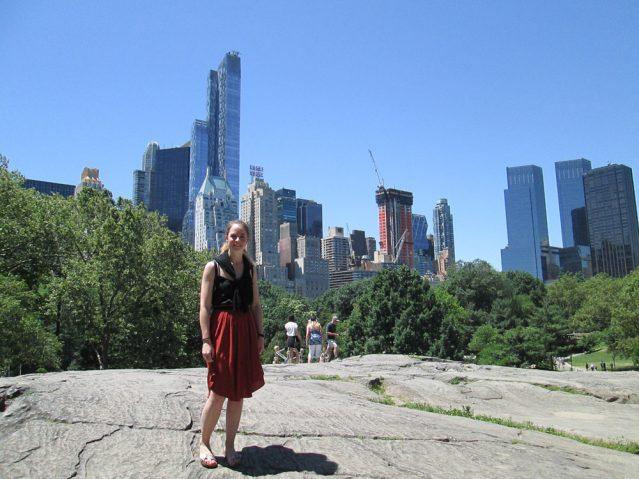 Katharina in New York