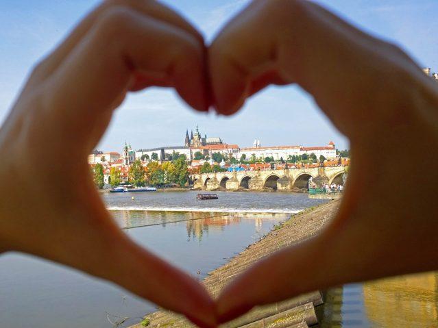 Ein Herz für Prag
