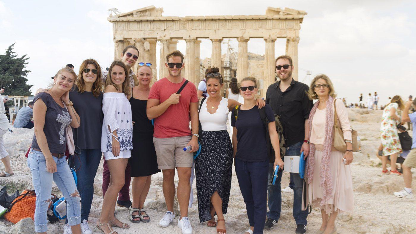 Die erste internationale Bloggerreise führt die Influencer nach Griechenland. Mit mir dabei waren: Sylvia Matzkowiak (@goldie_berlin),Catharina Sofie Hering (vonStylishTravelTips.com),Malin Martinsson (@fnulan),Omar El Mrabit (@omarelmrabt),Morris Nieuwenhuis (@morrisneuhaus),Nadia El Ferdaoussi (nadia_dailyself),Alexandra Kryanewa (@shurupchik),Phoebe Dräger (@palomaparrot),Bastian van Schaik (@basvanschaik)