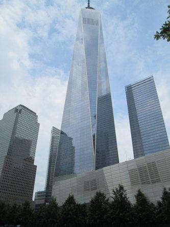 Das 1 WTC ist das höchste Gebäude New Yorks und steht an der Stelle des zerstörten World Trade Centers