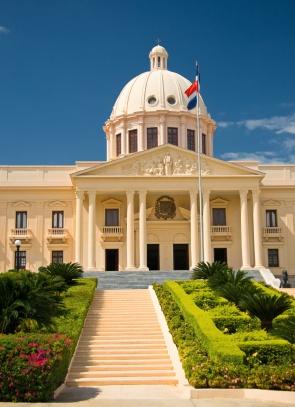 Der Präsidentenpalast in Santo Domingo