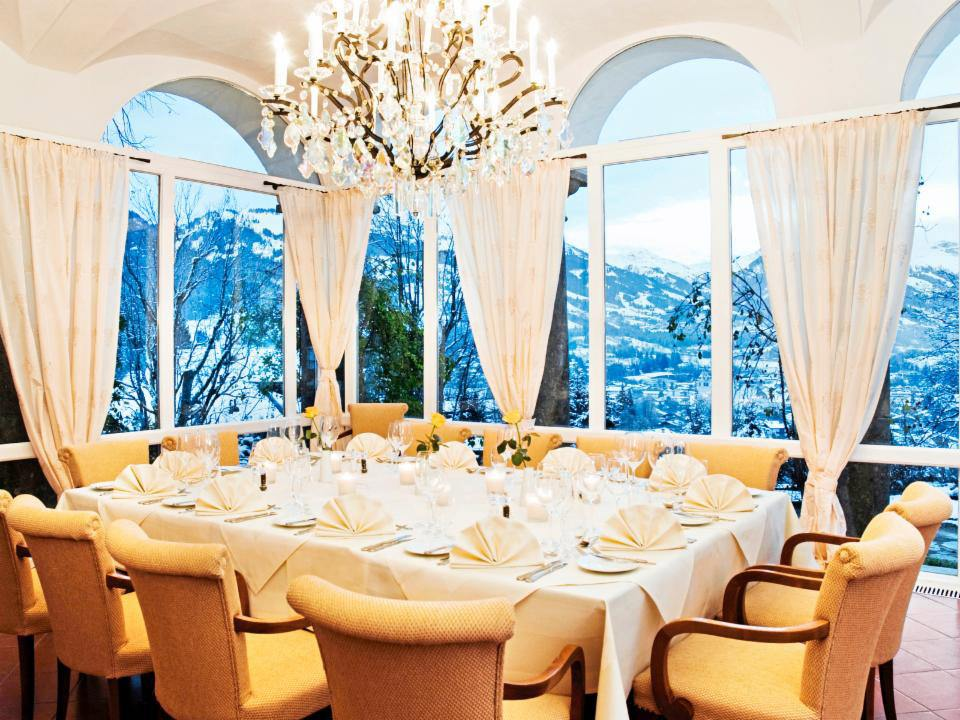Das Restaurant im Schloss Lebenberg