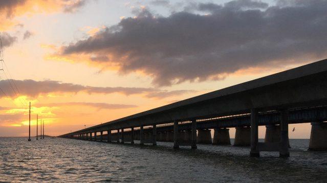 Sonnenuntergang an den Florida Keys