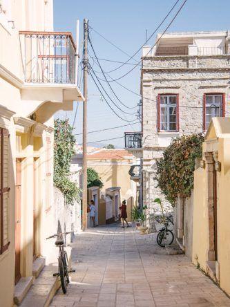 Straßenszene in Griechenland (Fotocredit: Alexandra Kryanewa)