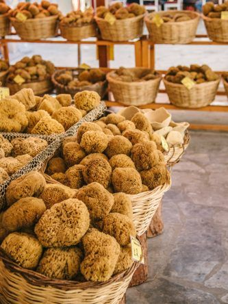 Ganz viel Spongebobs auf der Insel Symi (Fotocredit: Alexandra Kryanewa)