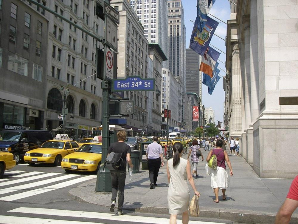 Hier ist ständig was los: New York