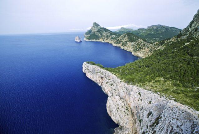 Oder den Küsten Mallorcas entlang