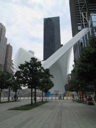 World Trade Center Station: Eine kunstvolle U-Bahn-Station