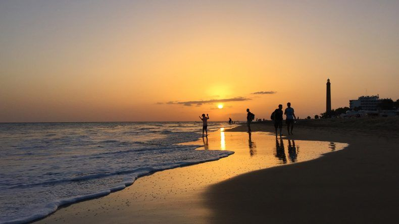 Sonnenuntergang Gran Canaria