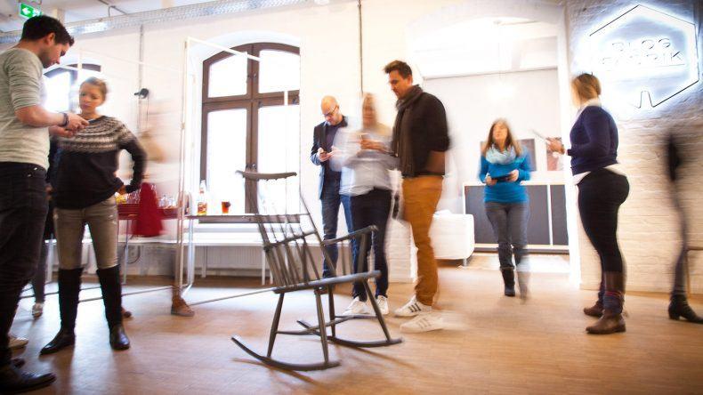 Immer in Bewegung beim Blogworkshop in der Blogfabrik