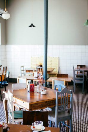 Inneneinrichtung Café com Calma (Fotocredit: Thea Neubauer)