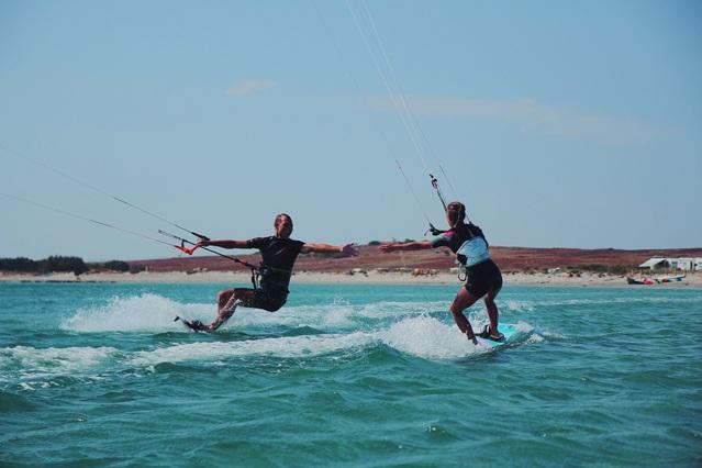 Die Kraft des Kites zu spüren, das ist für mich die absolute Freiheit.