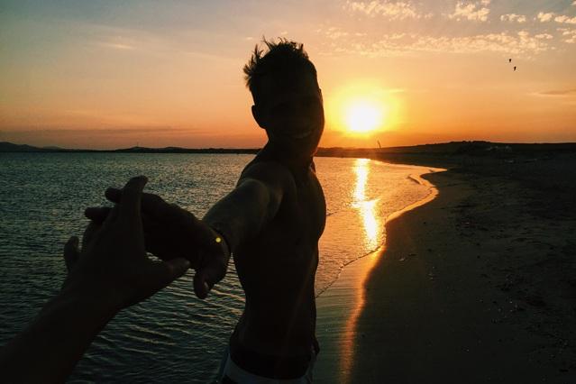 Kitesurfen mit YouTuber und Traveler Alex