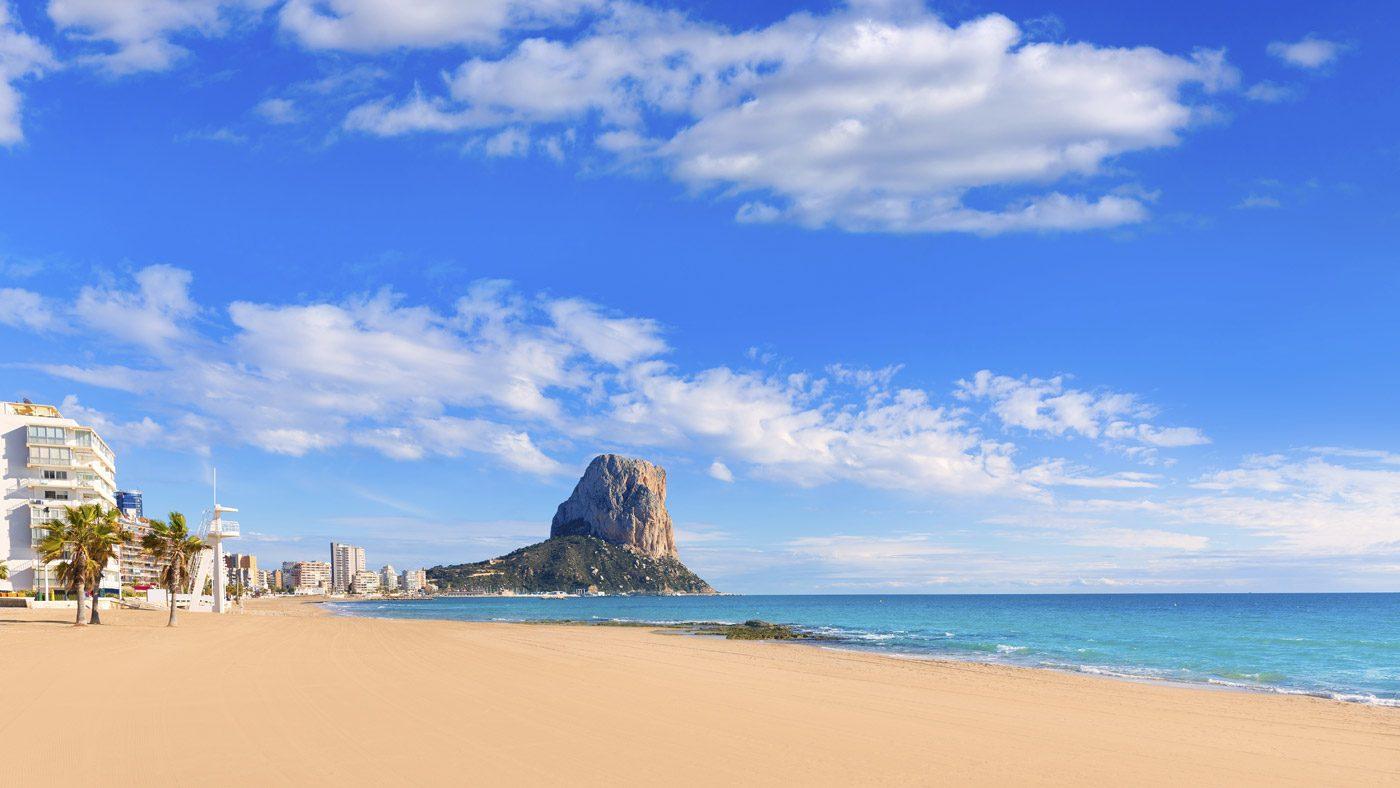 Die Costa Blanca in Spanien