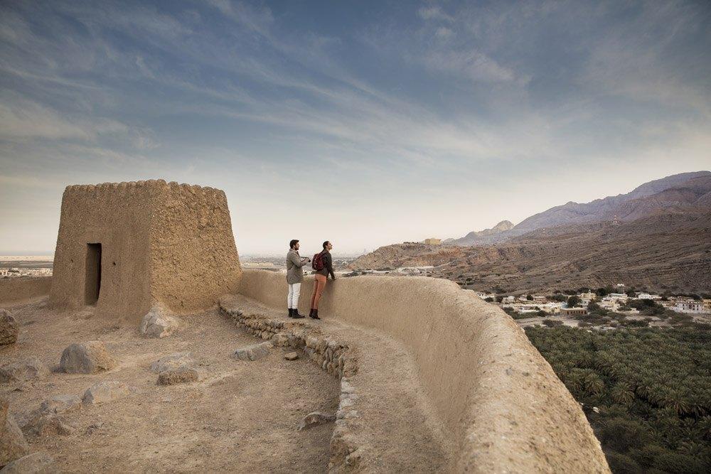 Diente damals der Verteidigung: Dhayah Fort
