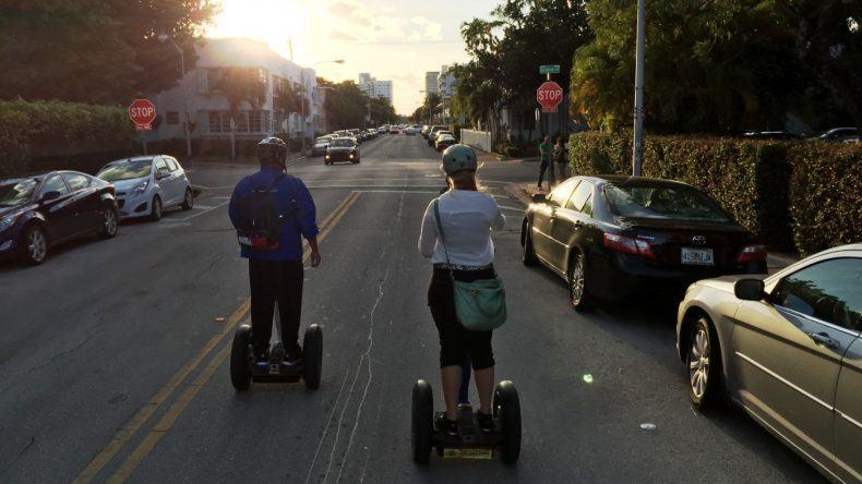 Durch die Straßen von Miami South Beach
