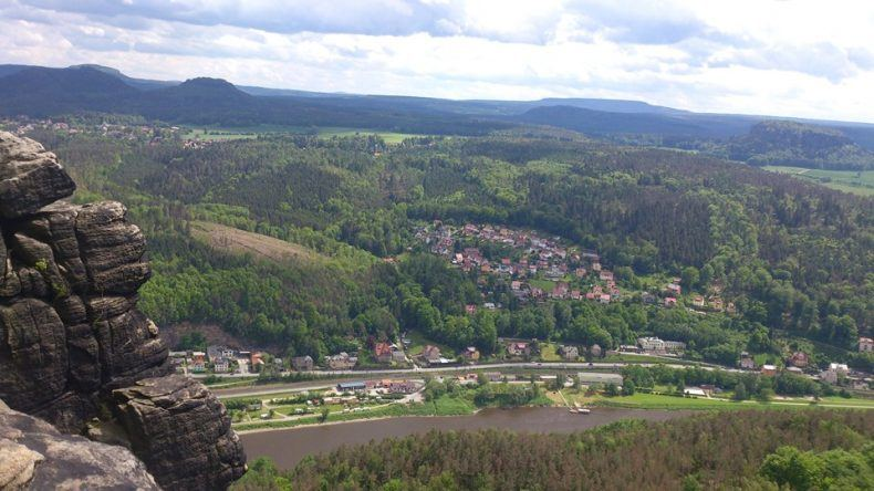 Elbsandsteingebirge Lilienstein