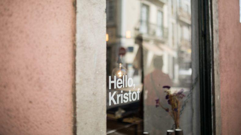 Hello Kristof von außen (Fotocredit: Herz und Blut)