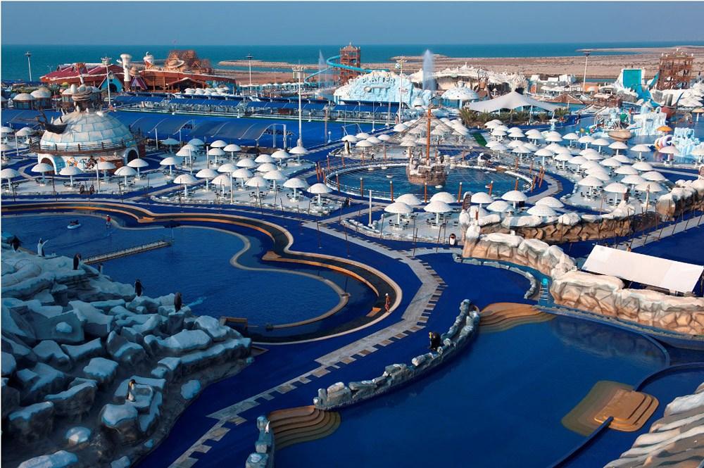 Gehört mit zu den TOP 5 Ras Al Khaimah Ausflügen: Der Iceland Water Park