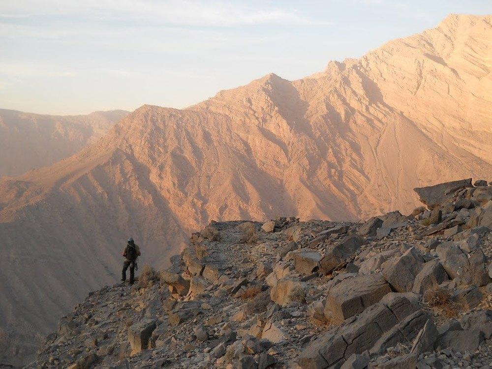 Tolles Panorama vom Jebel Jais garantiert!